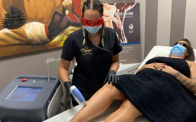 Risultati con la depilazione laser diodo?
